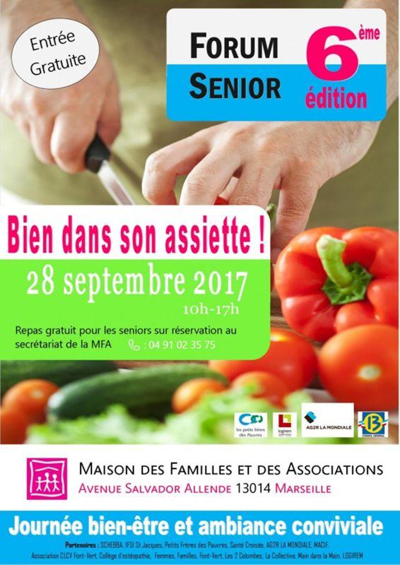 Forum Senior 6eme Edition Bien Ton Assiette